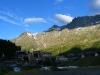 Blick über Breuil-Cervinia