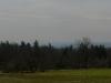 Blaue Berge am Horizont