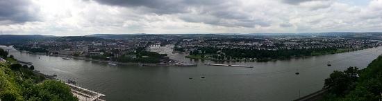 Festung über Koblenz