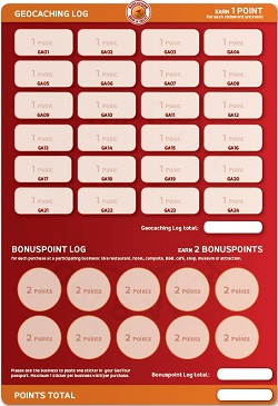 GeoTour - Punkte-Passport