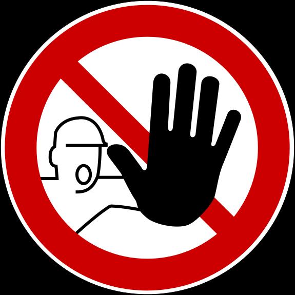 zutrittverboten
