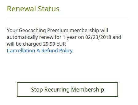 Opt-Out.Falle der Premium-Mitgliedschaft
