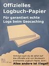 Logbuch-Papier
