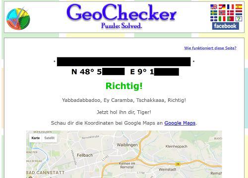 Mystery Geochecker