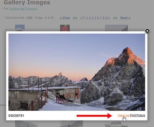 Log/Bild wählen